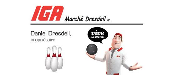 Un immense succès pour le tournoi DUO DE JANVIER – IGA Marché Dresdell