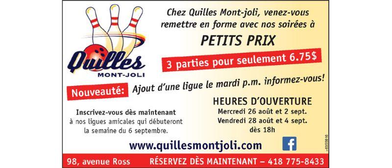 Promotion De La Rentree 201