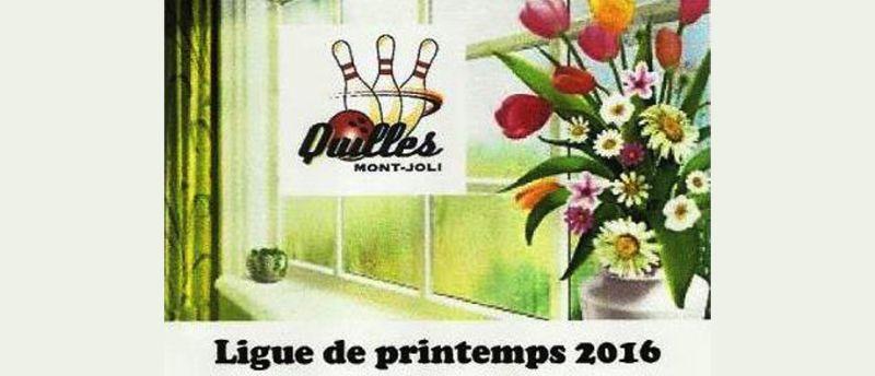 RAPPEL – Ligue du printemps – Début 18 mai – 19h30