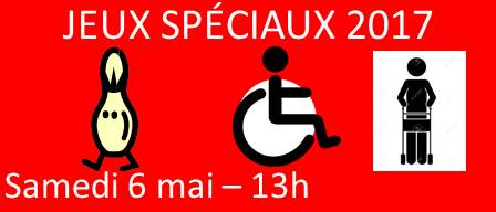 Les JEUX SPÉCIAUX – 9 ième édition