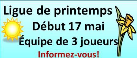 INVITATION – Ligue de printemps 2017