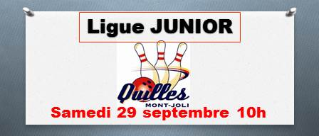 Diapositive Ligue Junior