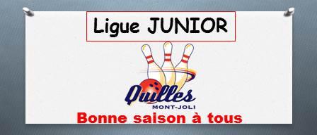 Et c'est parti pour la ligue JUNIOR de Quilles Mont-Joli