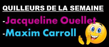 Diapositive Quilleurs De La Semaien 14 Oct.