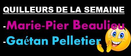 Quilleurs De La Semaine Du 18 Nov.
