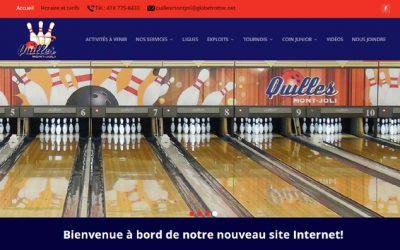 Bienvenue dans notre nouveau site web!