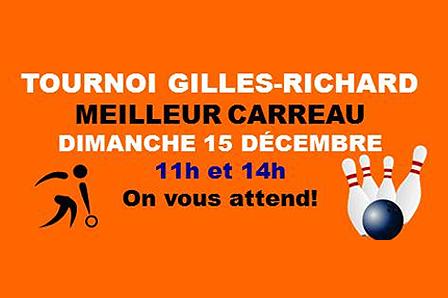 Tournoi GILLES RICHARD – Meilleur Carreau