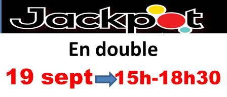Le JACK POT du 12 septembre n'a pas été gagné!