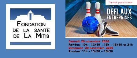Venez encourager LA FONDATION DE LA SANTÉ DE LA MITIS!