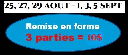PROMOTION DE LA RENTRÉE 2021